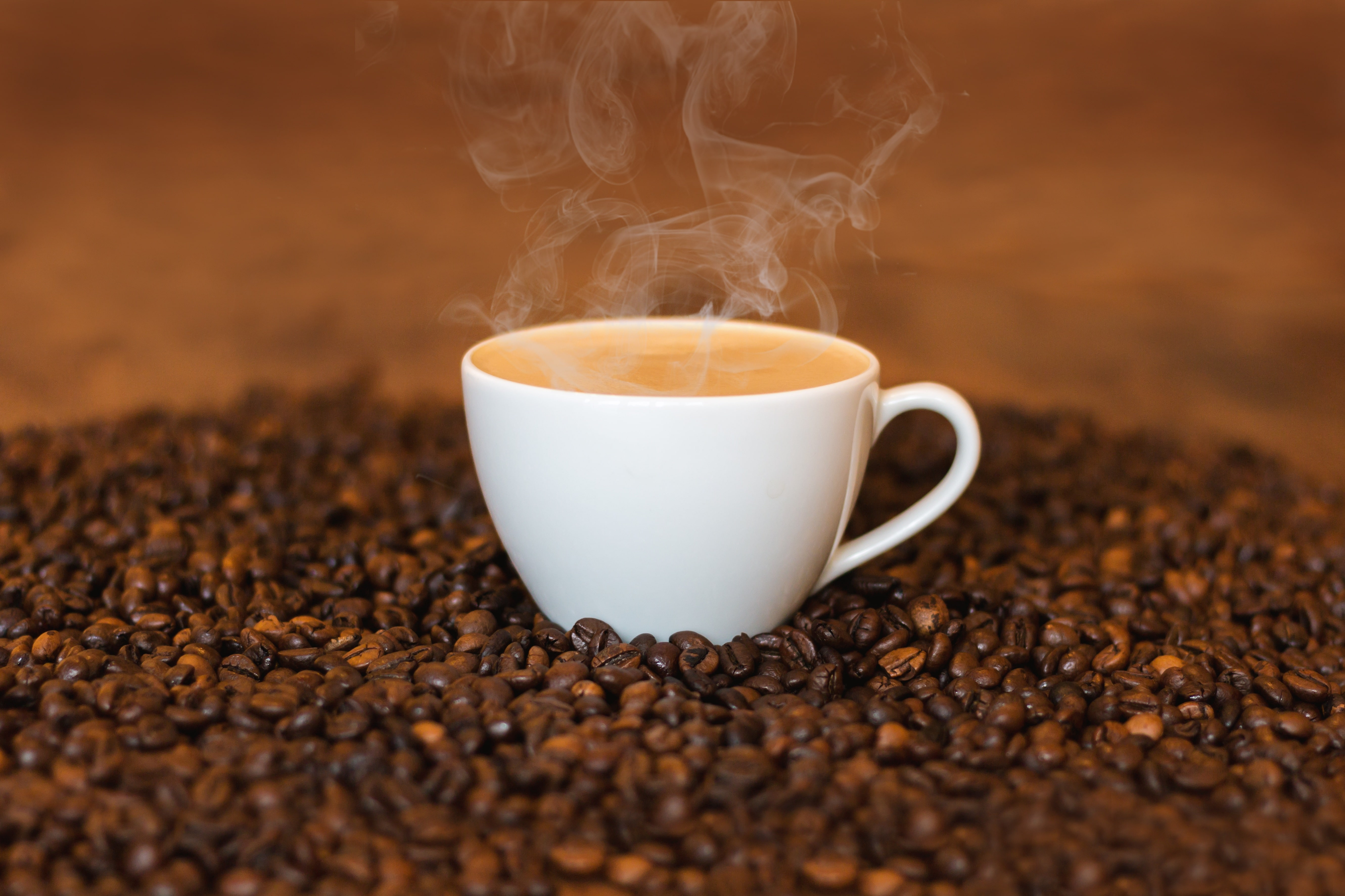 drinking coffee daily